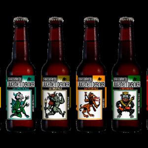Cartons de bières à venir chercher à la brasserie